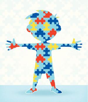 Autism Puzzle Boy
